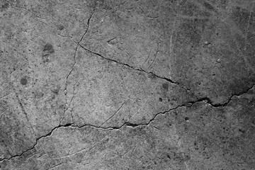 Crack concrete texture surface background. Wall mural