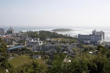 high angel view of Aoga-shima