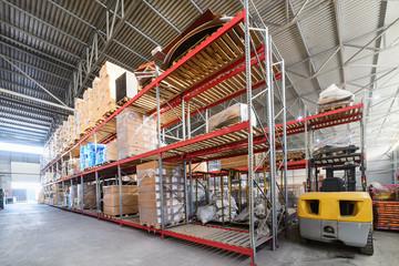 Large hangar warehouse industrial and logistics companies.