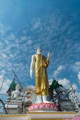 Buddha's Statue Stand Up