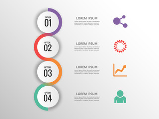Infographic design template Info graphic Elements process infographic