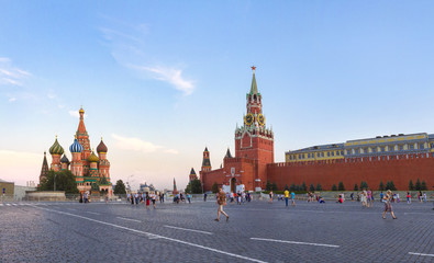 St. Basil Cathedral, Red Square. Moscow Kremlin