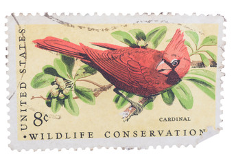 UNITED STATES AMERICA - CIRCA 1973: A postage stamp printed in t