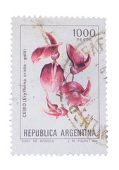 ARGENTINA - CIRCA 1983: a stamp printed in the  shows C