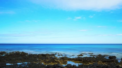 blue ocean clouds scenic - photo #26