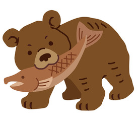 木彫りの熊 北海道