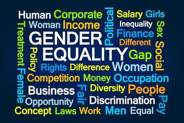 Gender Equality Word Cloud