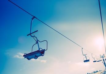 Ski Slope Ski Lift