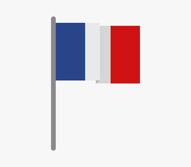 icon flag of france