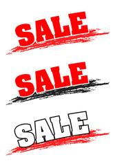 Sale, Angebot, Button, Wischer