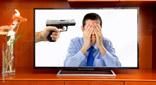 violence on television Many people believe that television violence has a negative effect on society because it promotes violence do you agree or disagree today, the impact of.
