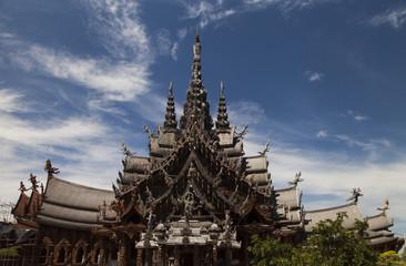 Beautiful Buddhist temple