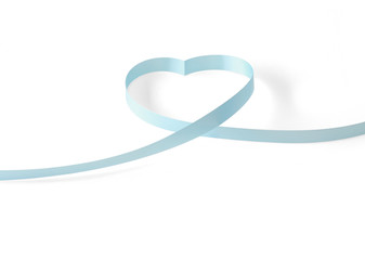 Elegante Schleife in Form eines Herzens