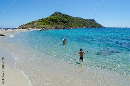 Cap Taillat Beaches Near To Saint Tropez French Riviera Stock