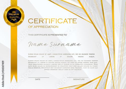 """Qualification Certificate of appreciation, design ..."