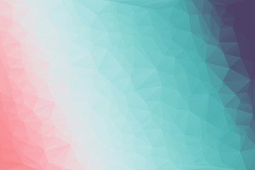 Abstract colorful mosaic pattern of geometric shapes in vector. Creative technologies background.
