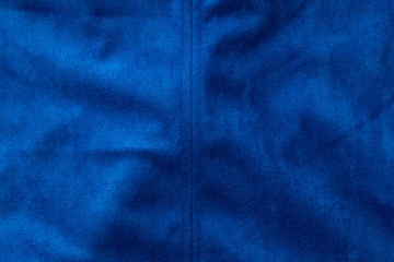 blue fabric as a background
