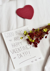 text good morning and happy valentines day