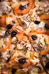pizza texture