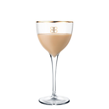 alcohol cocktail Baileys isolated on white background
