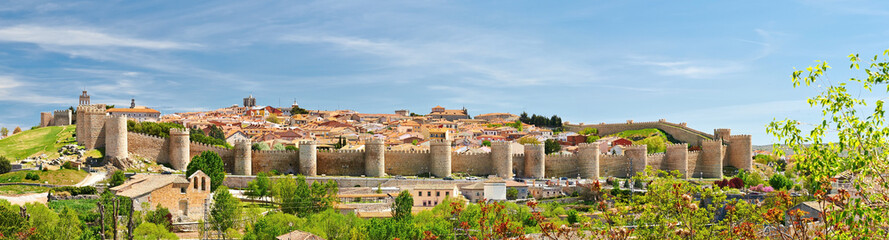 The historic town of Avila Fototapete