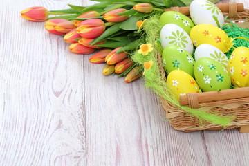 Obraz Kompozycja Wielkanocna - fototapety do salonu