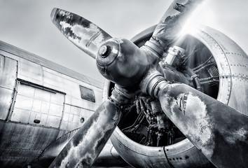 engine of an aircraft