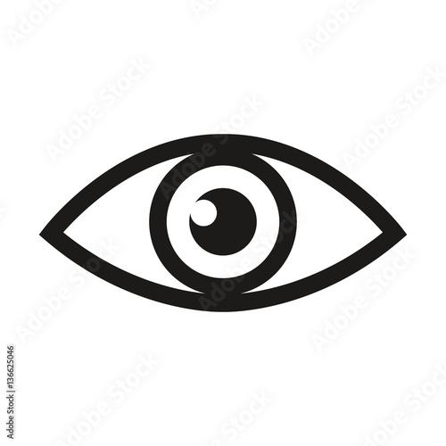 Eye Retina Scan Or Optometry Eye Exam Line Art Icon For Medical Apps