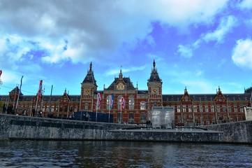 アムステルダムの運河巡り