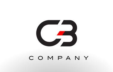 CB Logo.  Letter Design Vector.