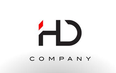 HD Logo.  Letter Design Vector.
