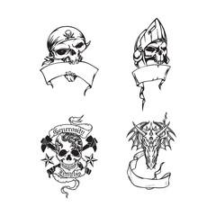 Dead skull design