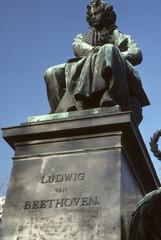 Statue de Ludwig van Beethoven / Vienne / Autriche