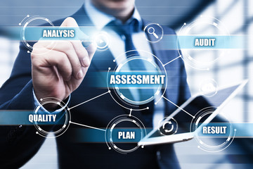 Assessment Analysis Evaluation Measure Business Analytics Technology concept