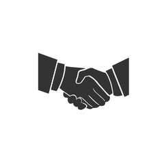 handshake, icon, vector