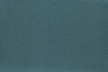 texture and background of fabric dark turquoise color