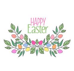 Vector Easter eggs