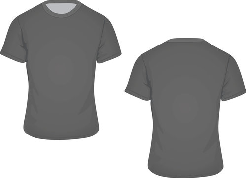 Man t-shirt vector