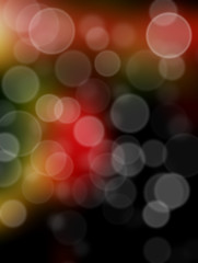 abstract bright cycle bokeh background , blurred background