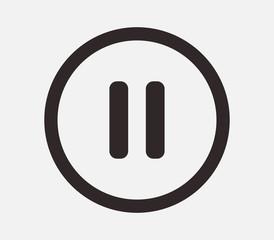 pause music icon