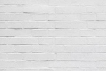 Ziegelsteinwand Textur in weiß