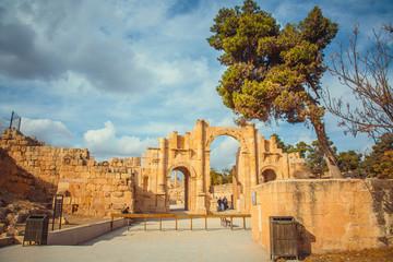 Ancient ruins of Jerash, Jordan.