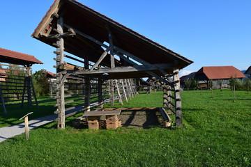 Slovenian Hay Stacks