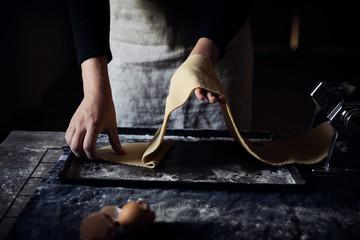 pasta making 6
