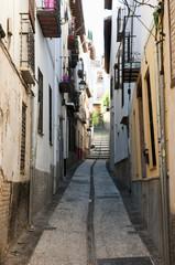 Narrow Street - Granada - Spain