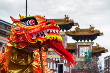 Up close with the Chinese Dragon Dance