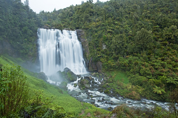 Marokopa Falls, New Zealand, North Island