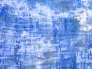 Blue textured surface. Blank canvas