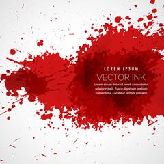 vector blood splatter stain background