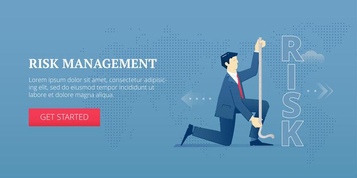 Risk management web banner
